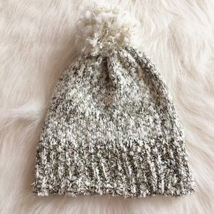 Anthro Sparkle winter beanie